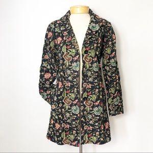 Johnny Was Embroidered Coat Jacket Blazer S Boho